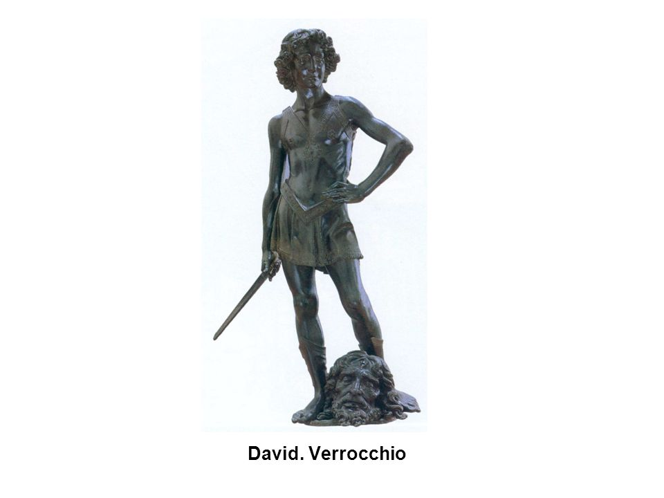 David. Verrocchio