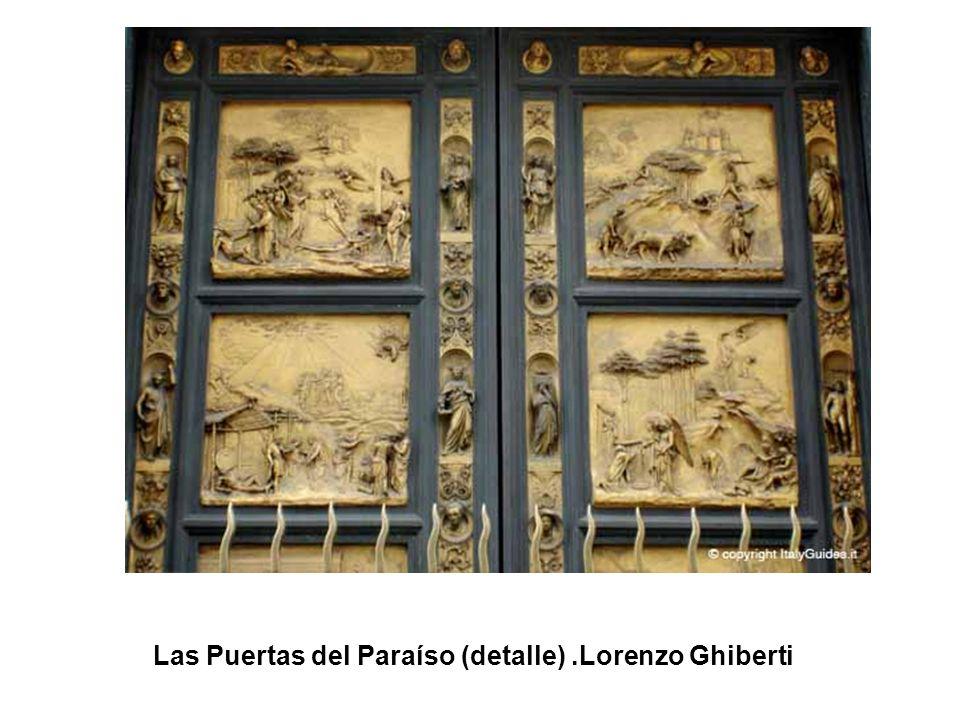 Las Puertas del Paraíso (Caín y Abel).Lorenzo Ghiberti