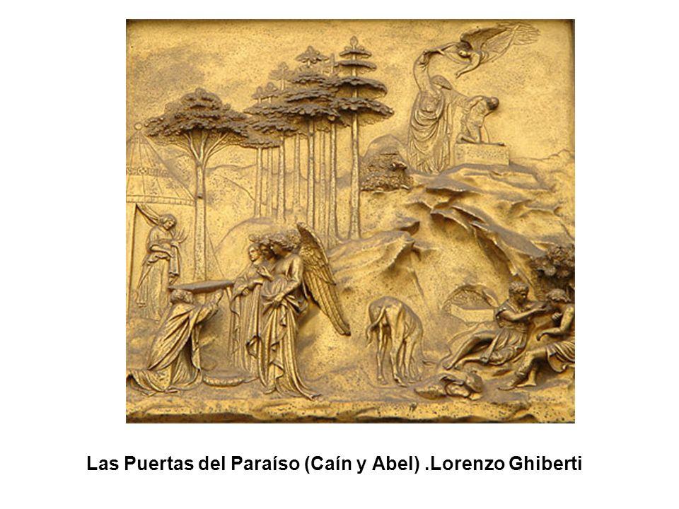 Las Puertas del Paraíso (Sacrificio de Isaac).Lorenzo Ghiberti