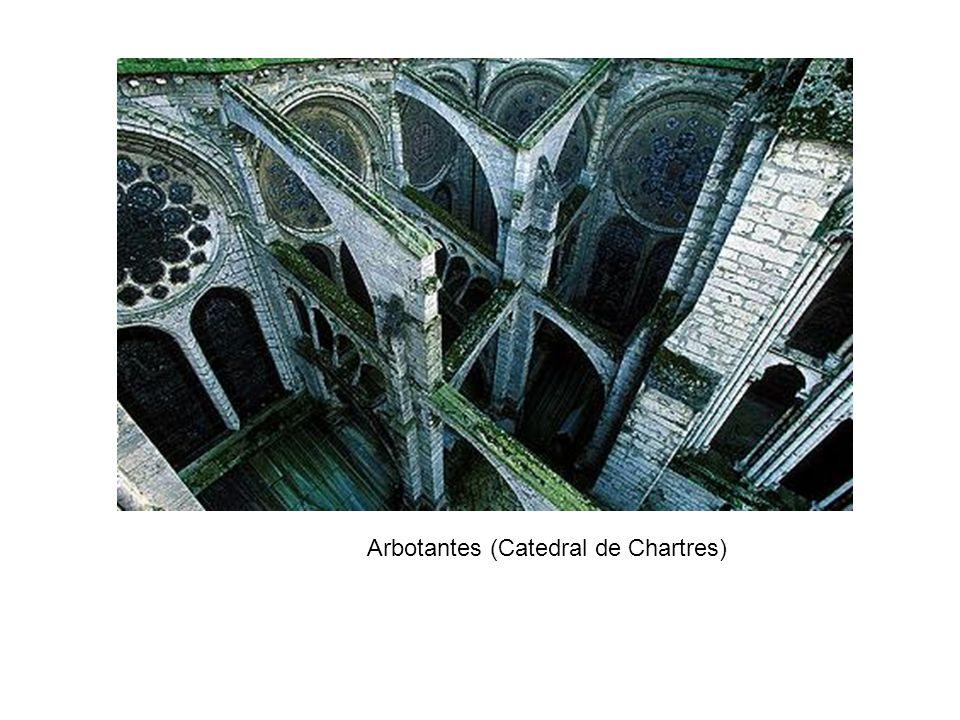 Arbotantes (Catedral de Chartres)