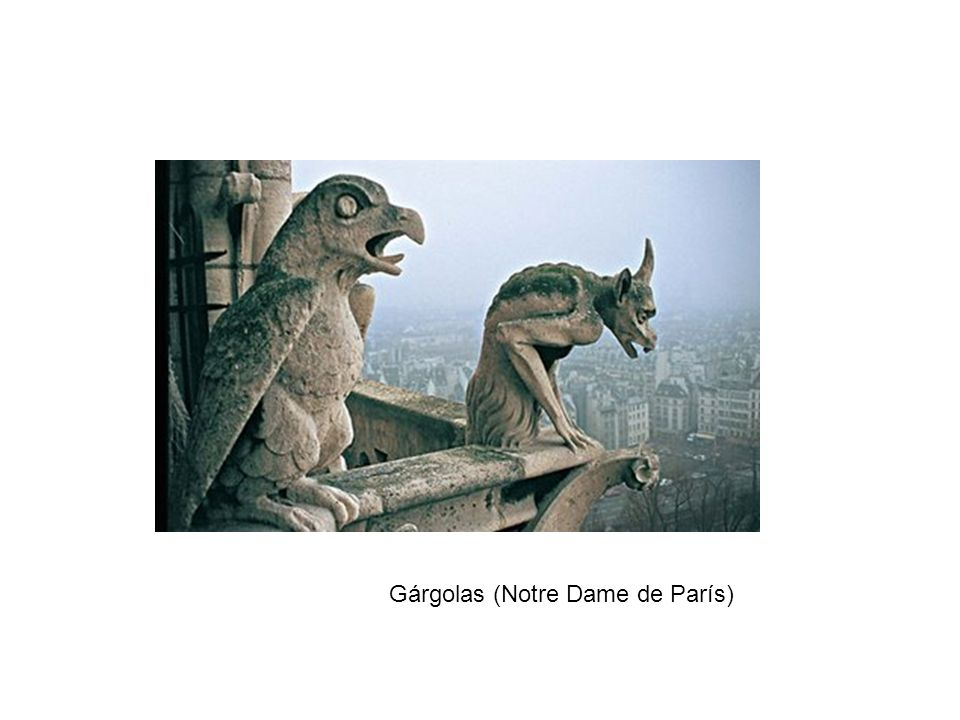 Gárgolas (Notre Dame de París)