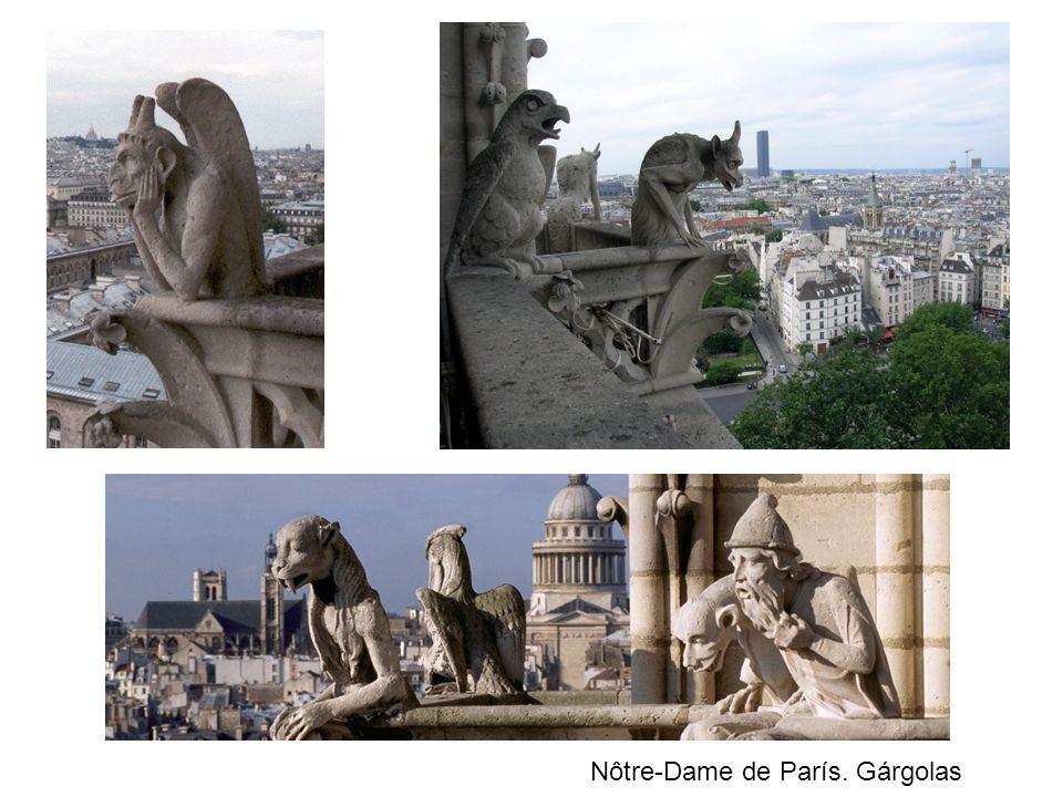 Nôtre-Dame de París. Gárgolas