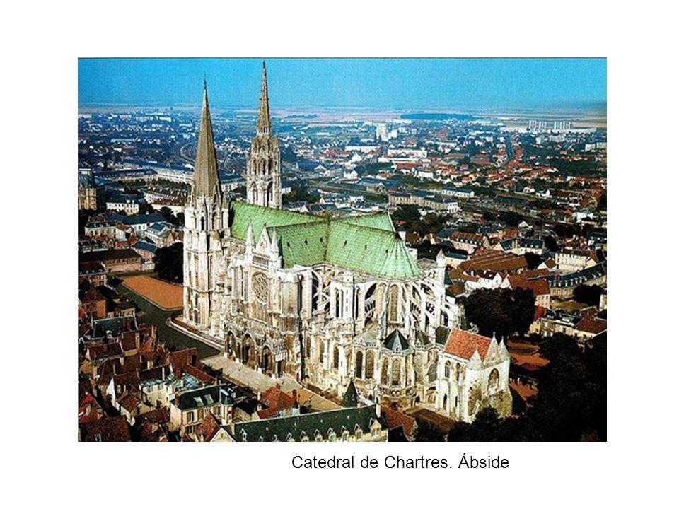 Catedral de Chartres. Ábside