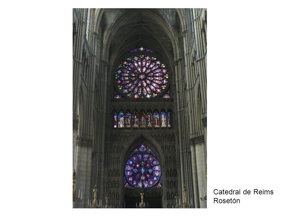 Catedral de Reims Rosetón