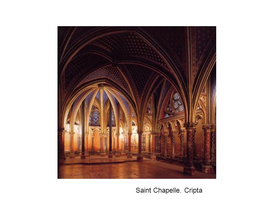 Saint Chapelle. Cripta