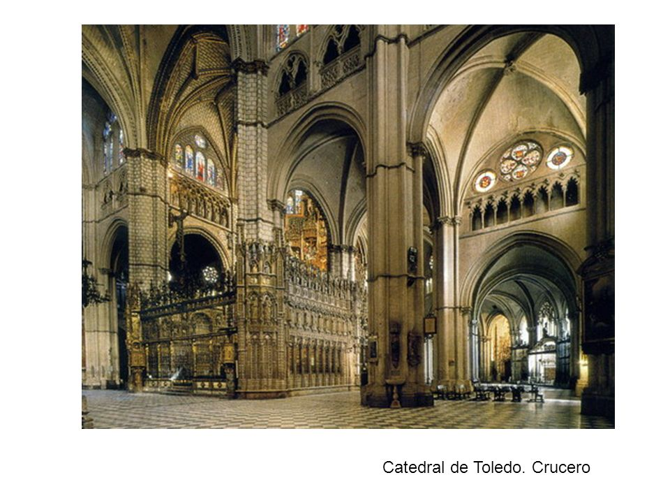 Catedral de Toledo. Crucero