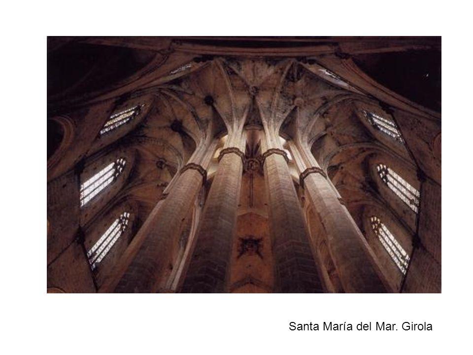Santa María del Mar. Girola