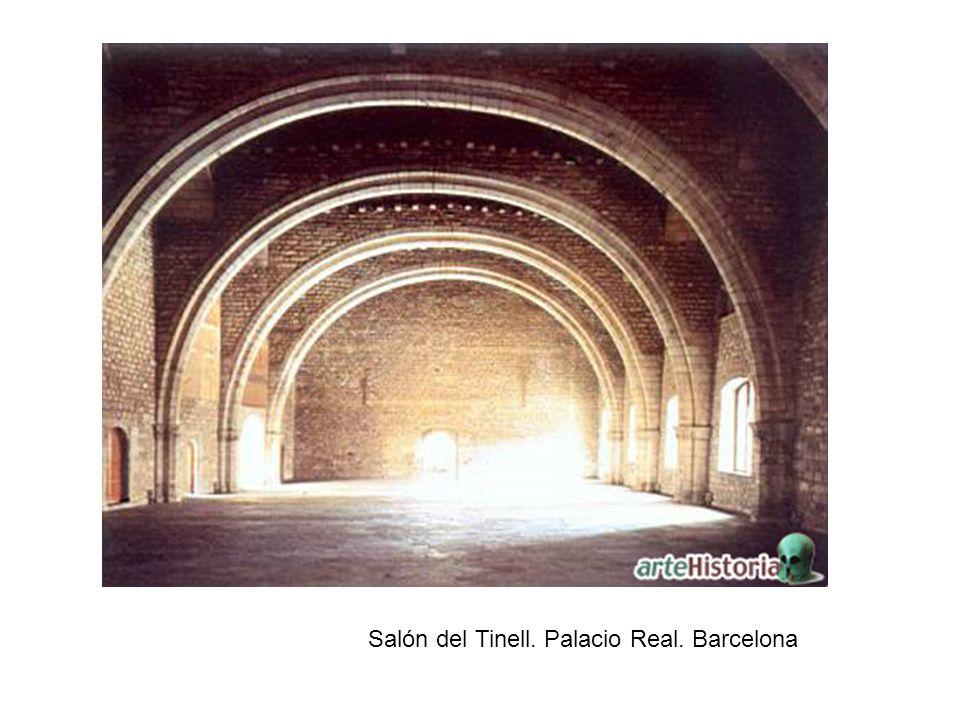 Salón del Tinell. Palacio Real. Barcelona