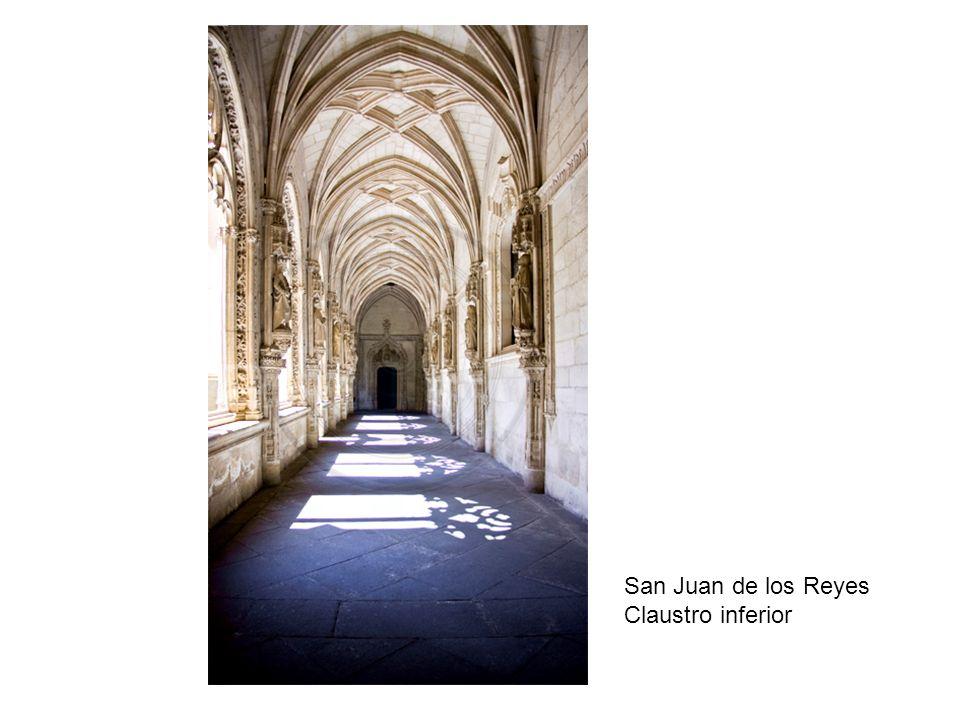 San Juan de los Reyes Claustro inferior