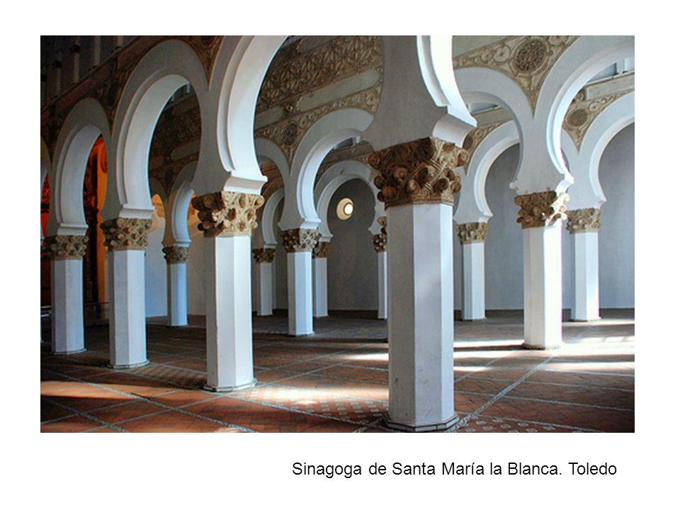 Sinagoga de Santa María la Blanca. Toledo