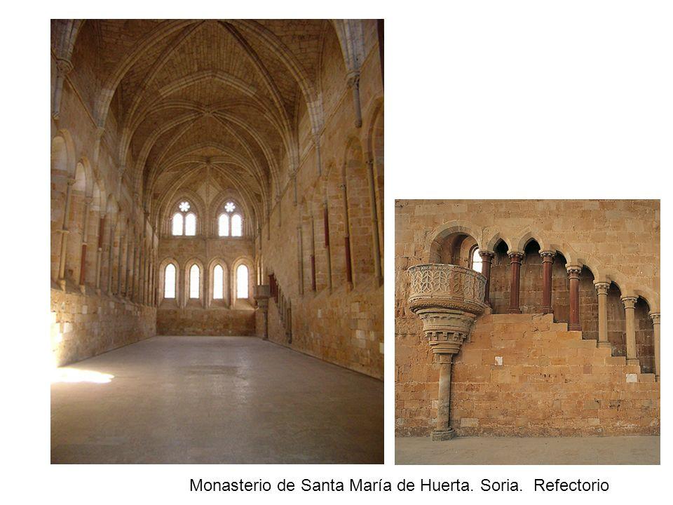 Monasterio de Santa María de Huerta. Soria. Refectorio