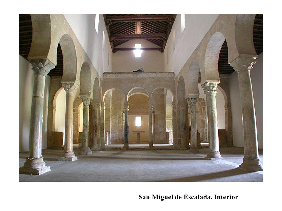 San Miguel de Escalada. Interior