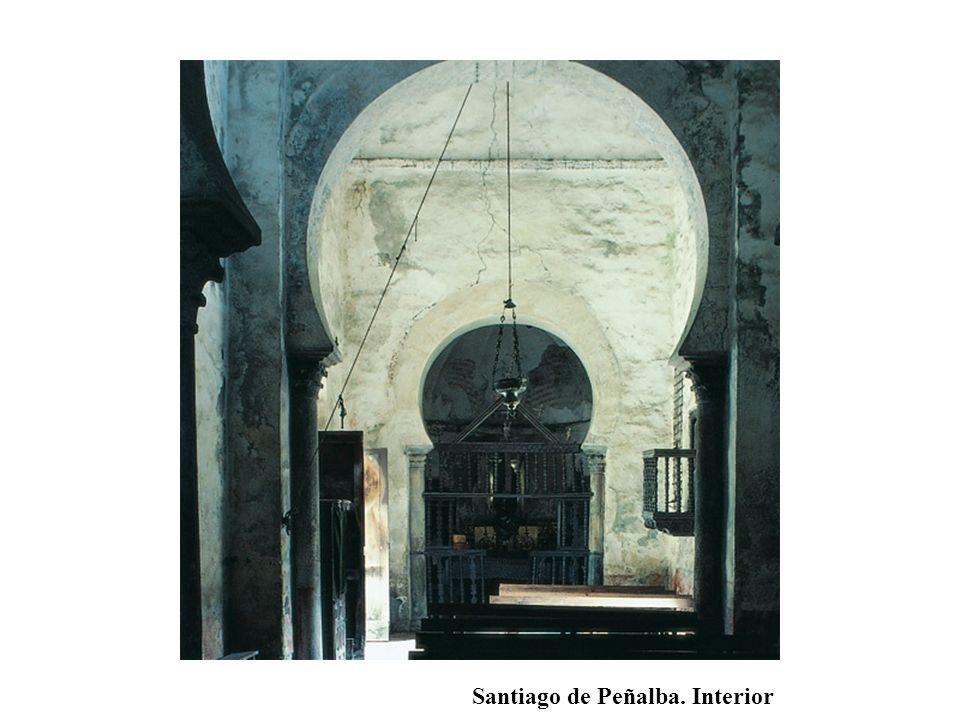Santiago de Peñalba. Interior