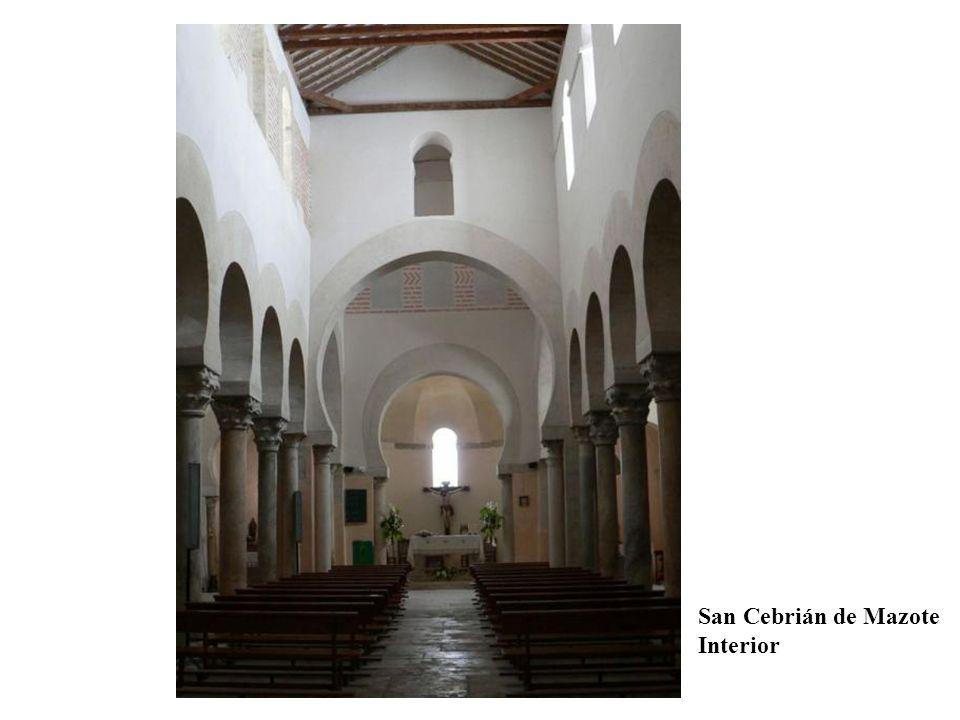 San Cebrián de Mazote Interior