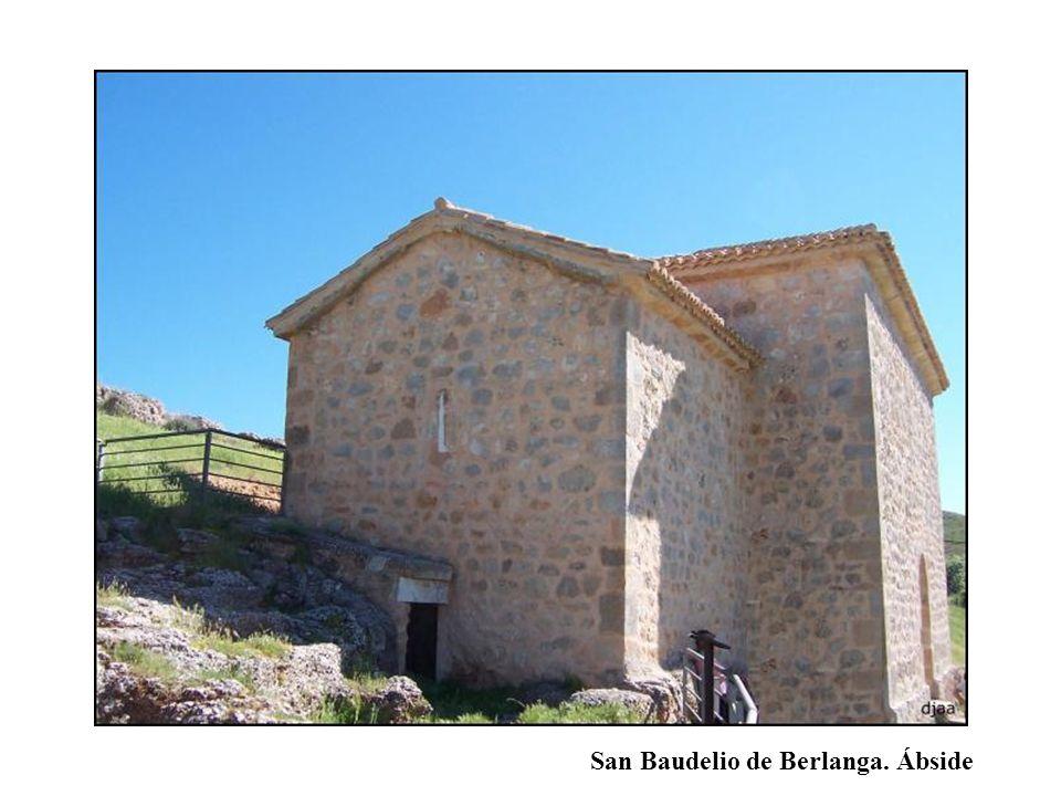 San Baudelio de Berlanga. Ábside