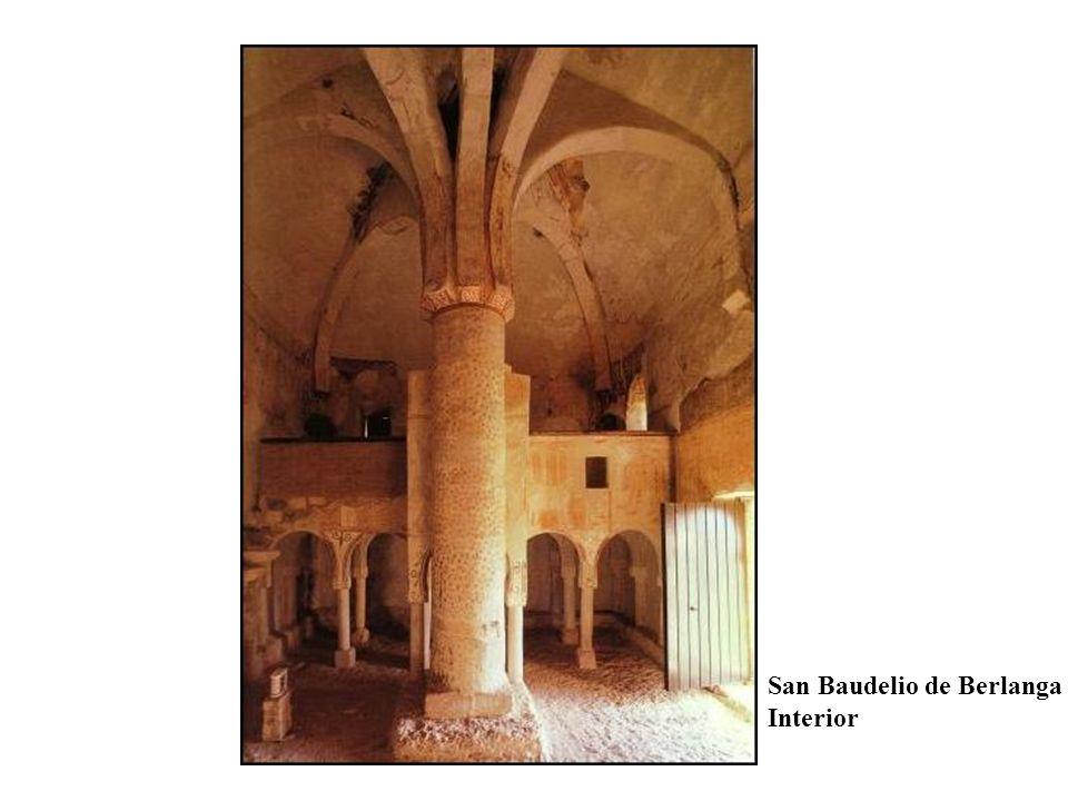 San Baudelio de Berlanga Interior