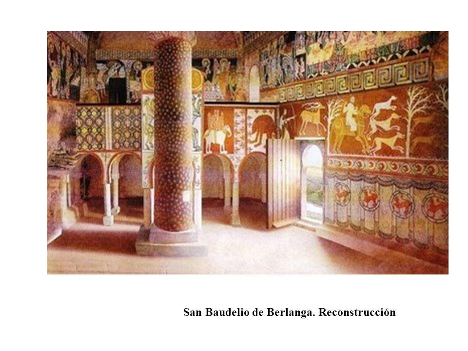 San Baudelio de Berlanga. Reconstrucción
