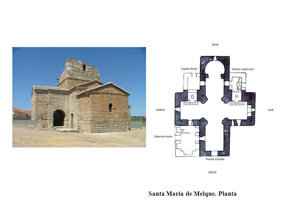 Santa María de Melque. Planta
