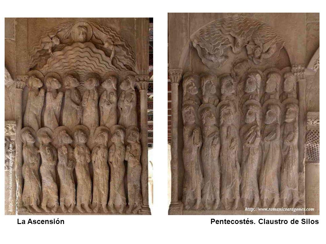 La Ascensión Pentecostés. Claustro de Silos