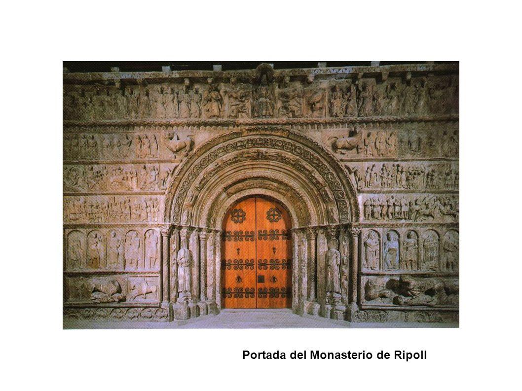 Portada del Monasterio de Ripoll
