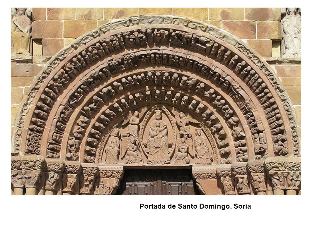 Portada de Santo Domingo. Soria