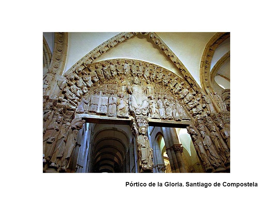 Pórtico de la Gloria. Santiago de Compostela