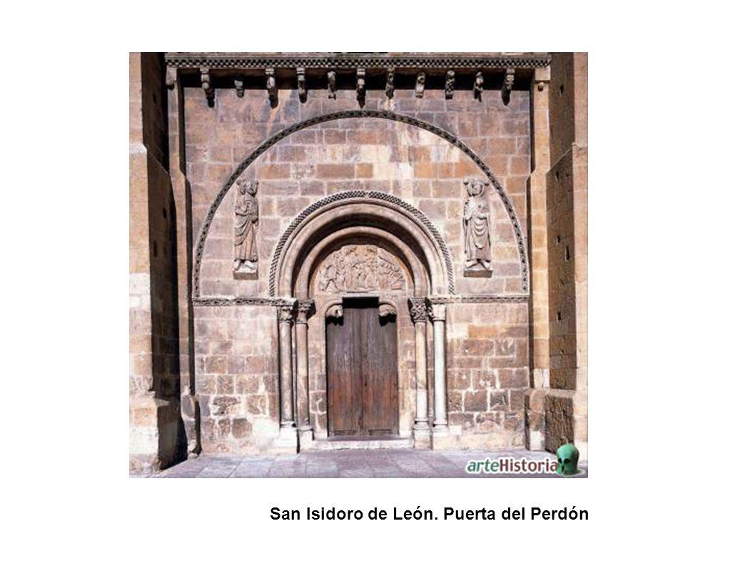 Santo Domingo. Detalles de las arquivoltas