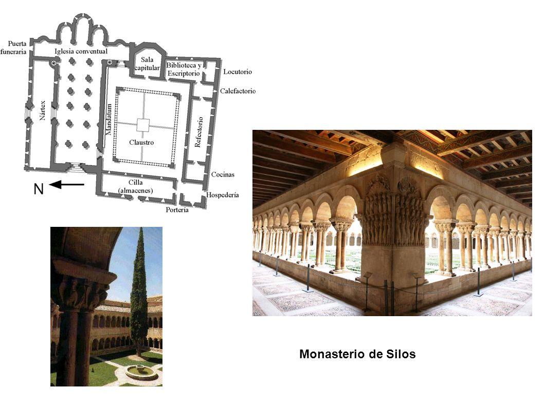Monasterio de Silos. Capiteles