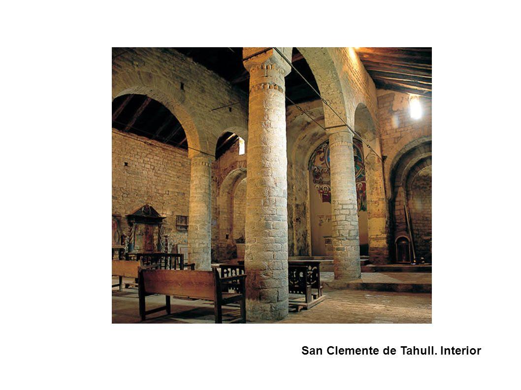 San Clemente de Tahull. Interior