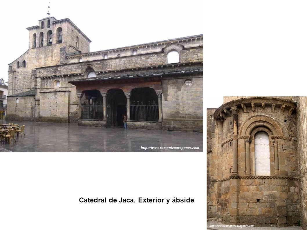 Catedral de Jaca. Exterior y ábside