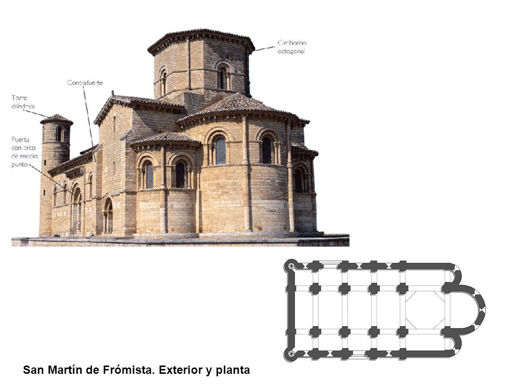 San Martín de Frómista. Exterior y planta