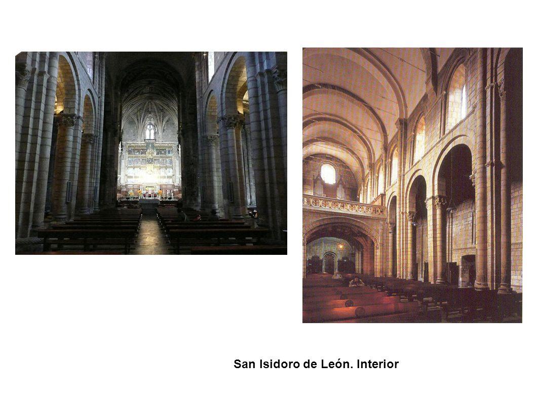 San Isidoro de León. Interior