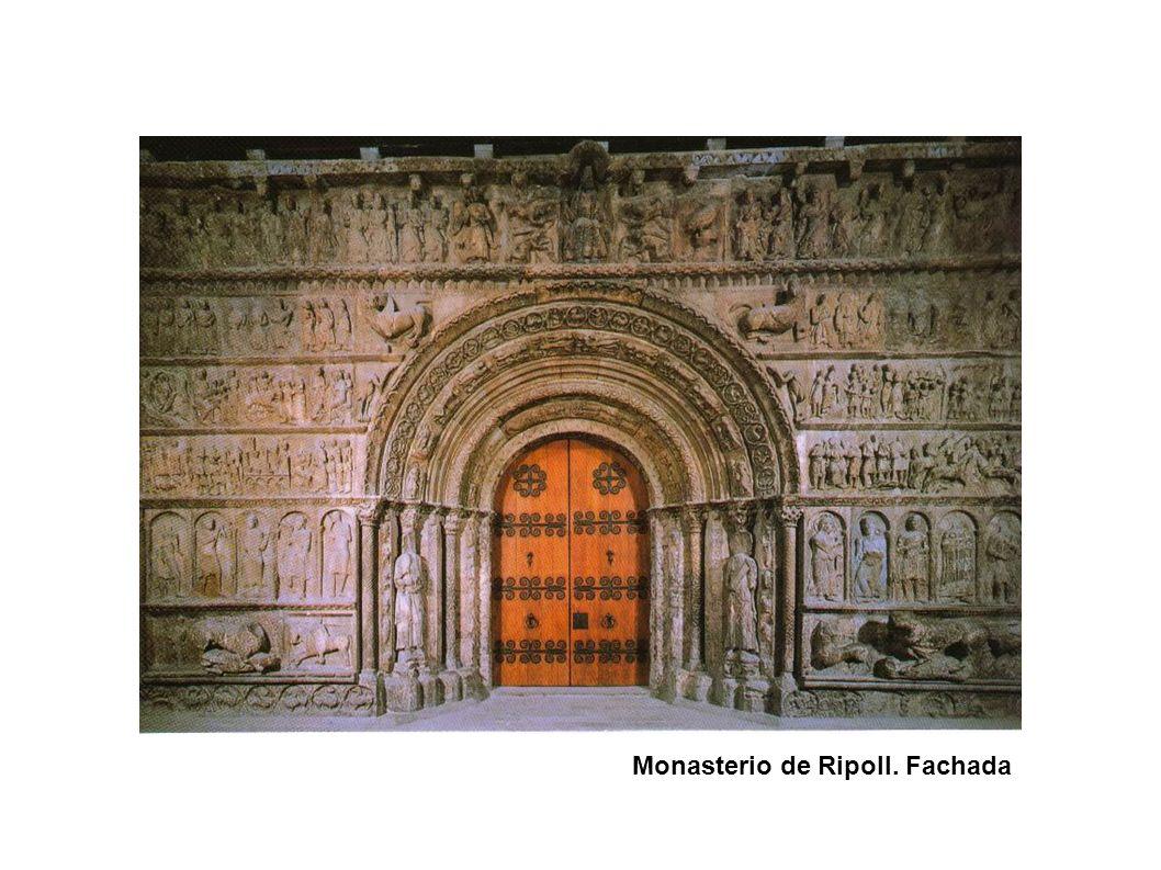 Monasterio de Ripoll. Fachada