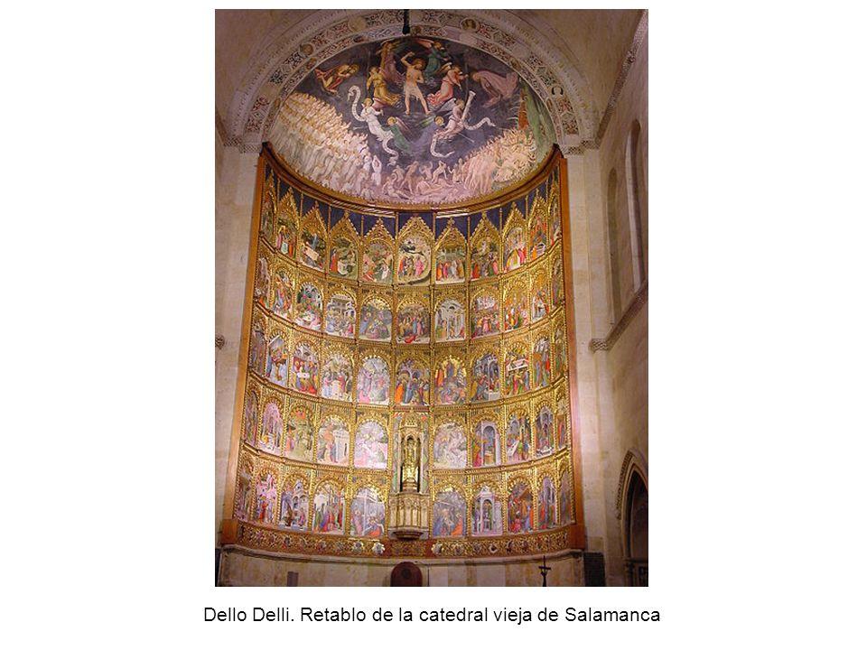 Dello Delli. Retablo de la catedral vieja de Salamanca