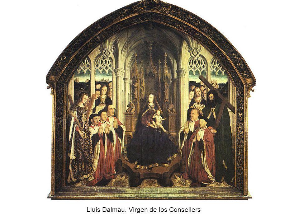 Lluis Dalmau. Virgen de los Consellers