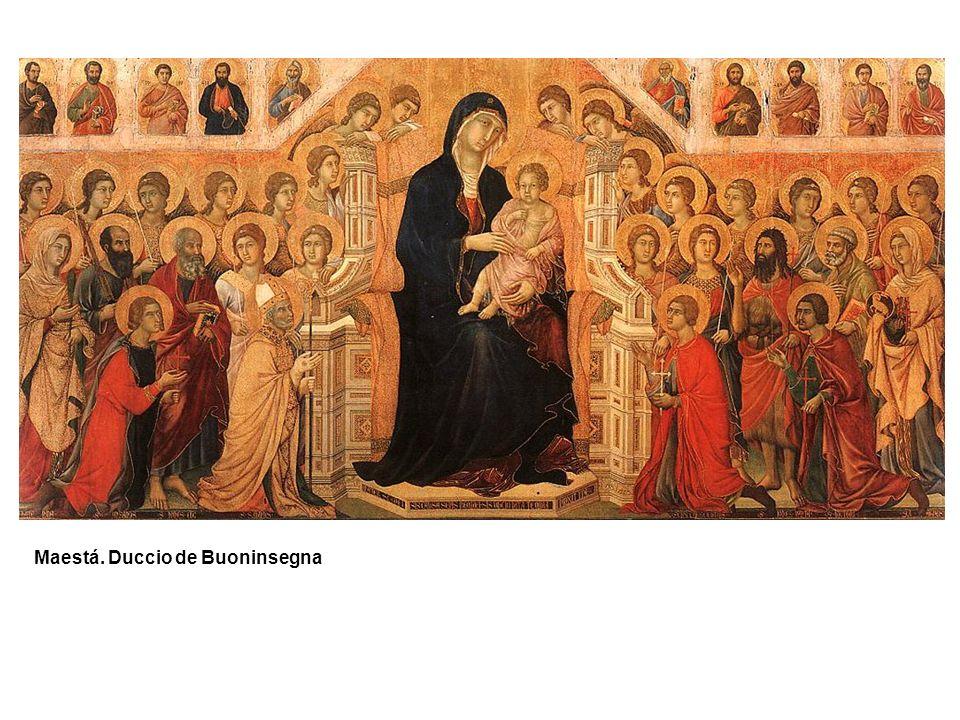 Maestá. Duccio de Buoninsegna