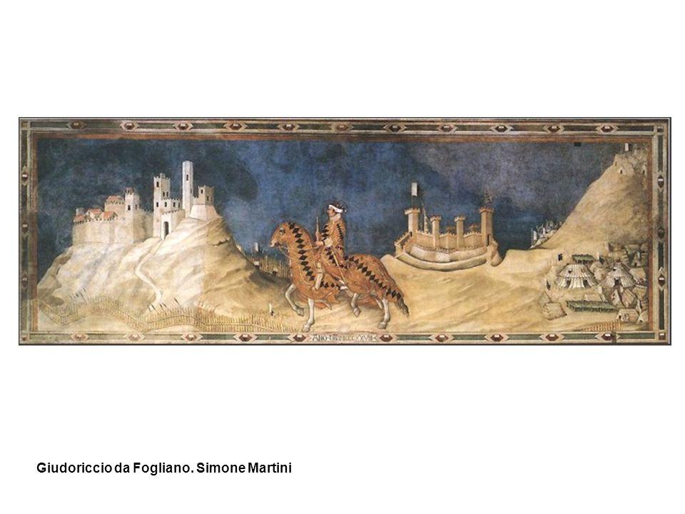 Giudoriccio da Fogliano. Simone Martini