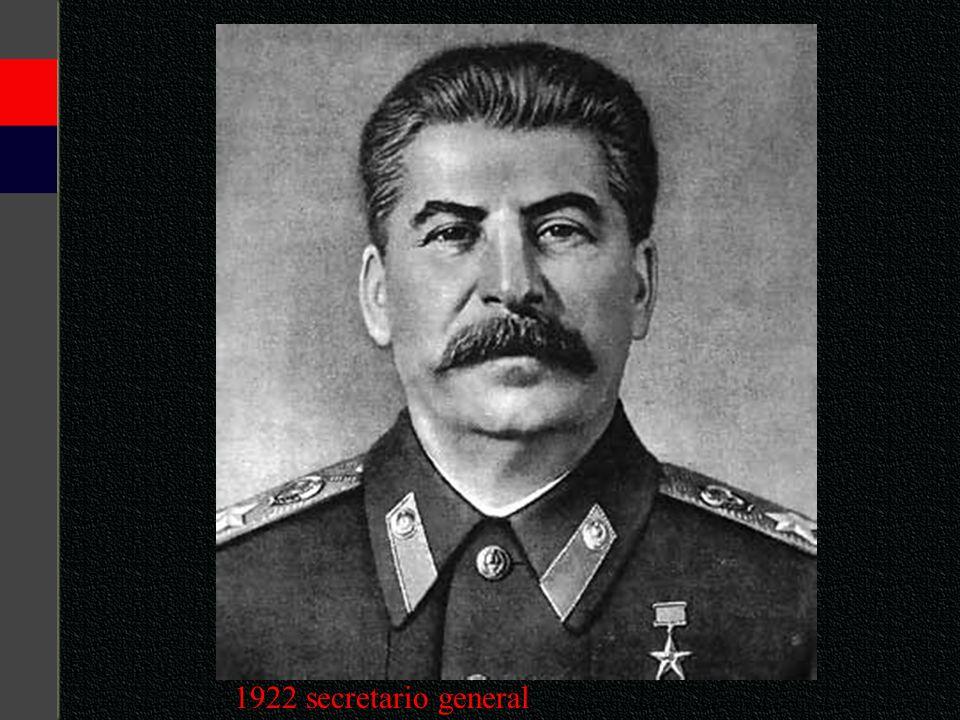 1922 secretario general