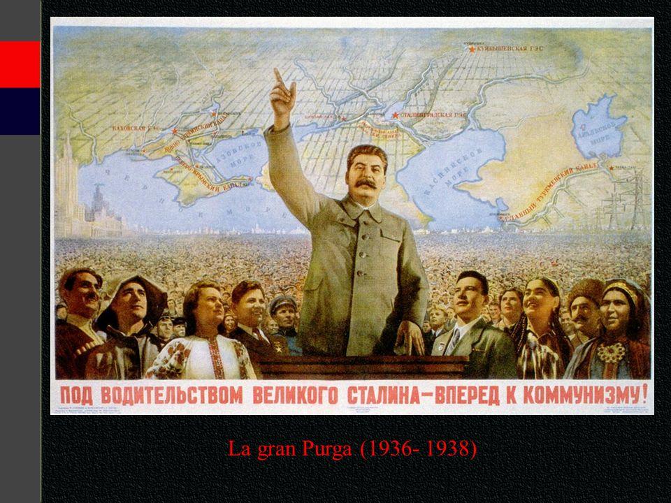 La gran Purga (1936- 1938)
