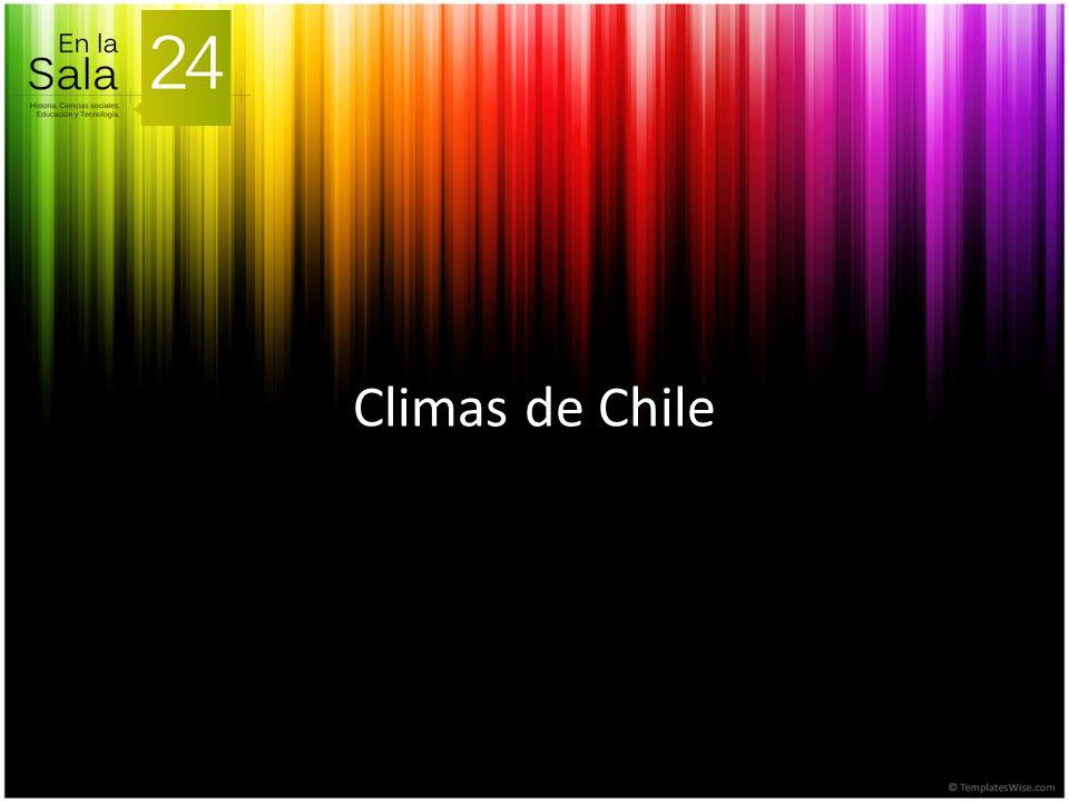 Elementos del Clima Se refiere a los diferentes componentes climáticos.