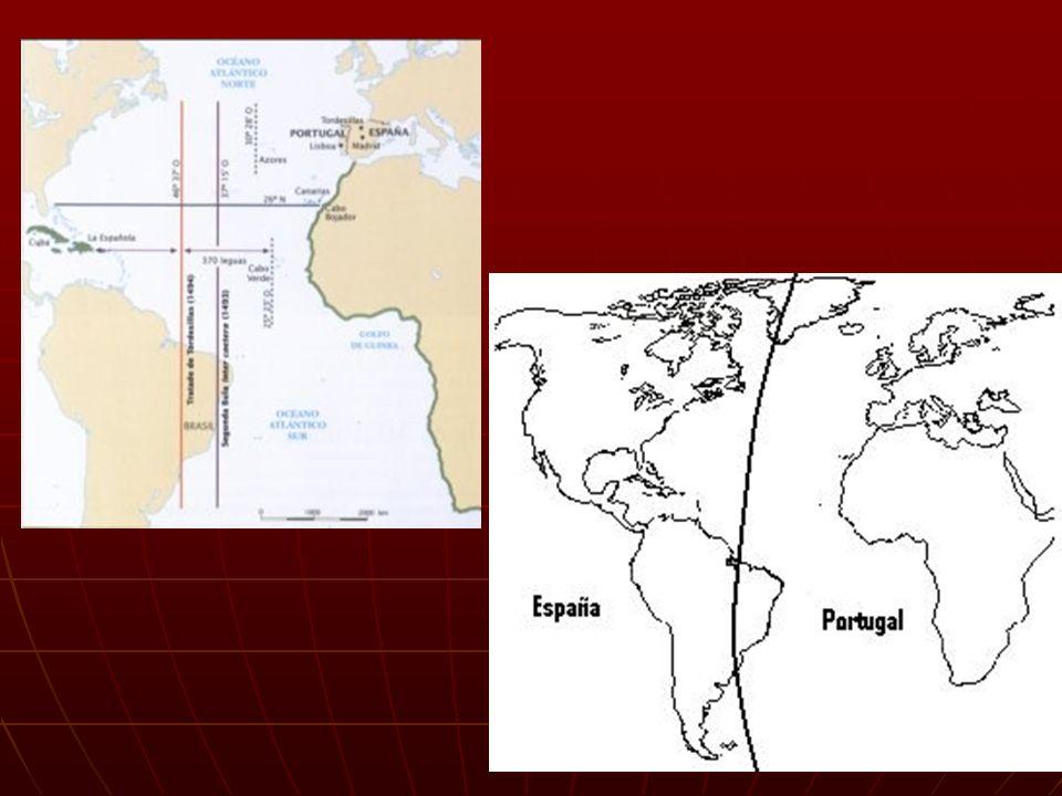 Ejercicio Alcaçovas Toledo Bula Intercaetera Tratado de Tordesillas