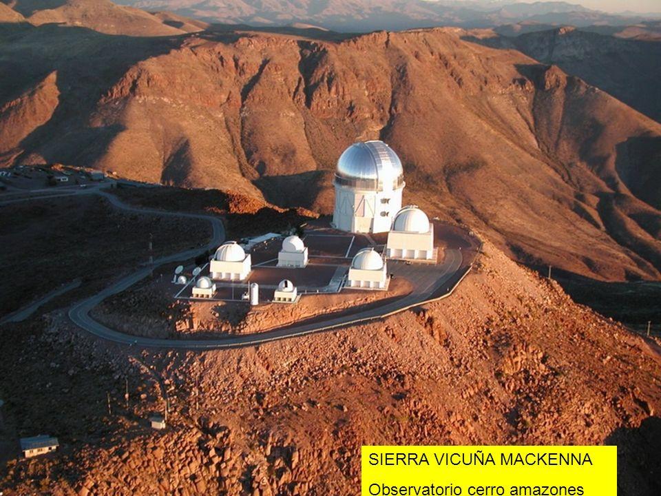 SIERRA VICUÑA MACKENNA Observatorio cerro amazones
