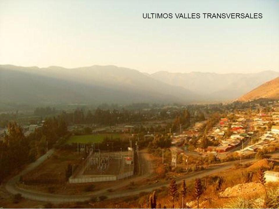 ULTIMOS VALLES TRANSVERSALES