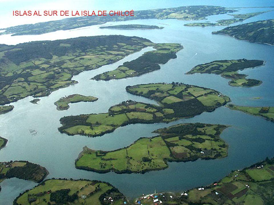 ISLAS AL SUR DE LA ISLA DE CHILOÉ