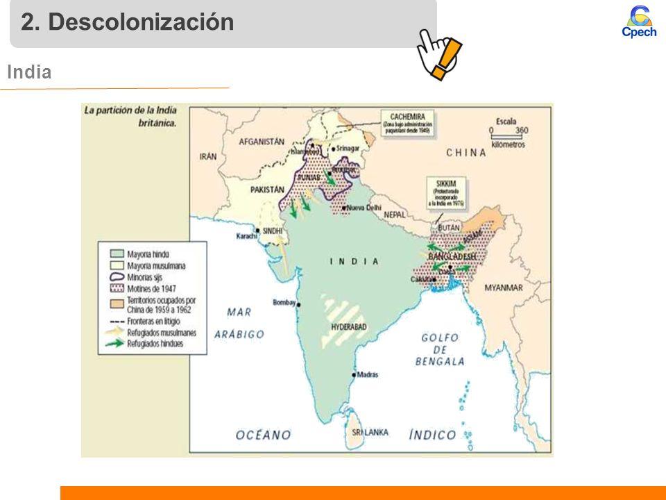 2. Descolonización India