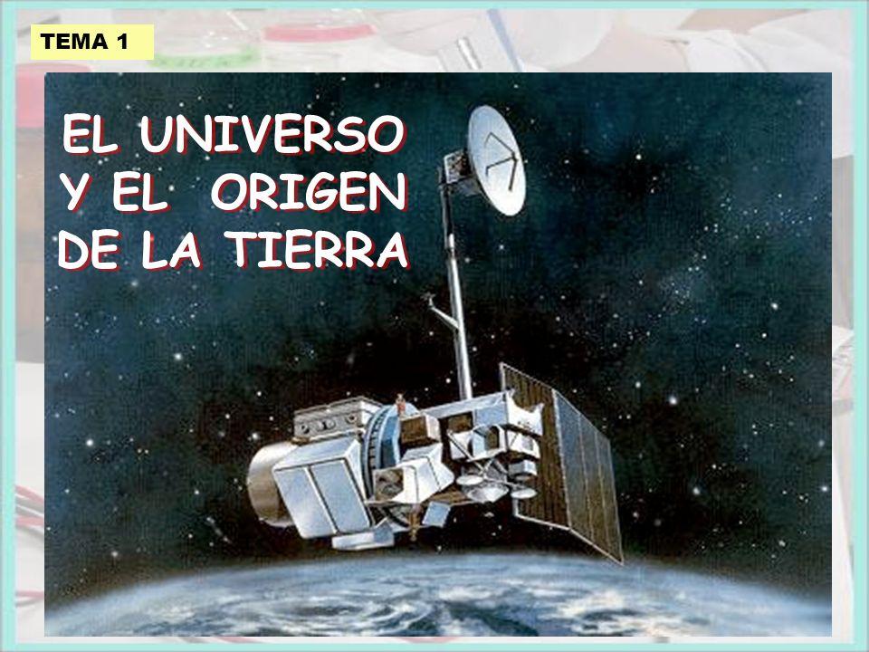 TEMA 1 EL UNIVERSO Y EL ORIGEN DE LA TIERRA