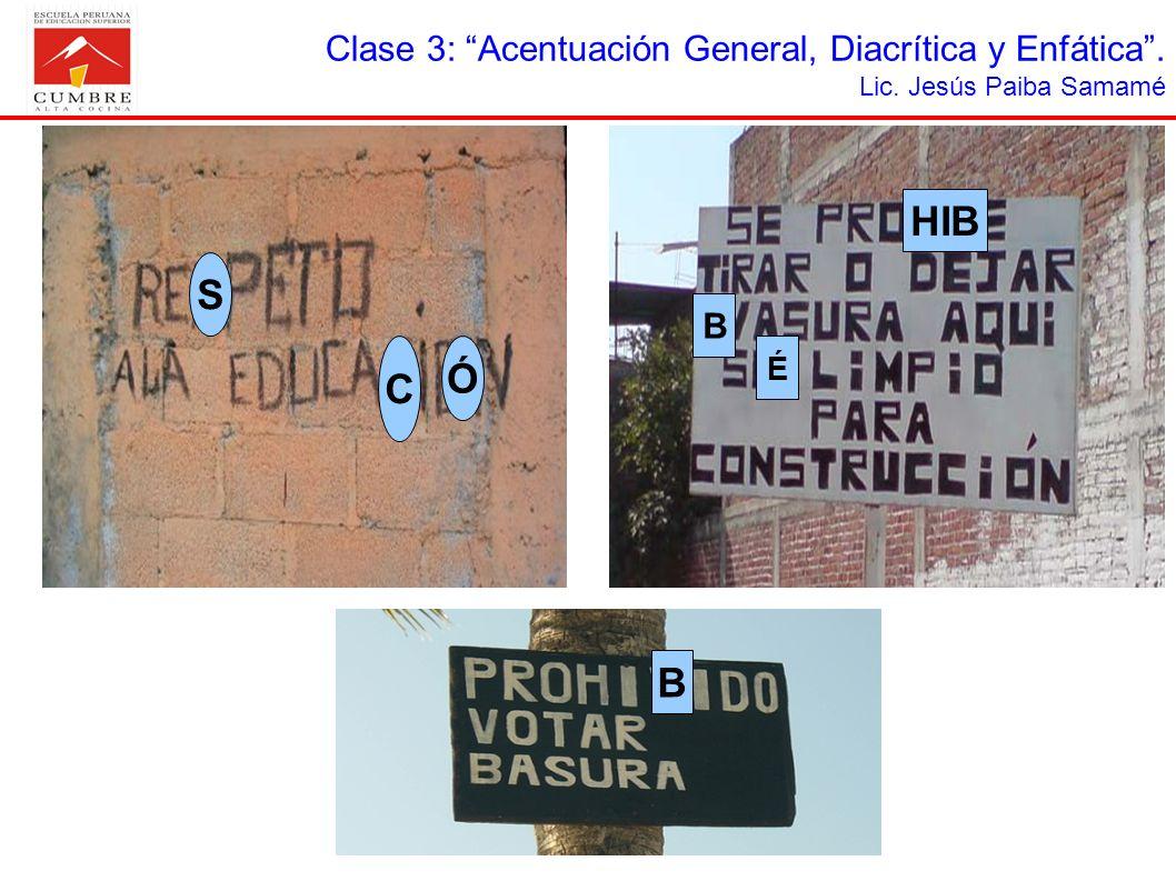 LA ACENTUACIÓN GENERAL I.