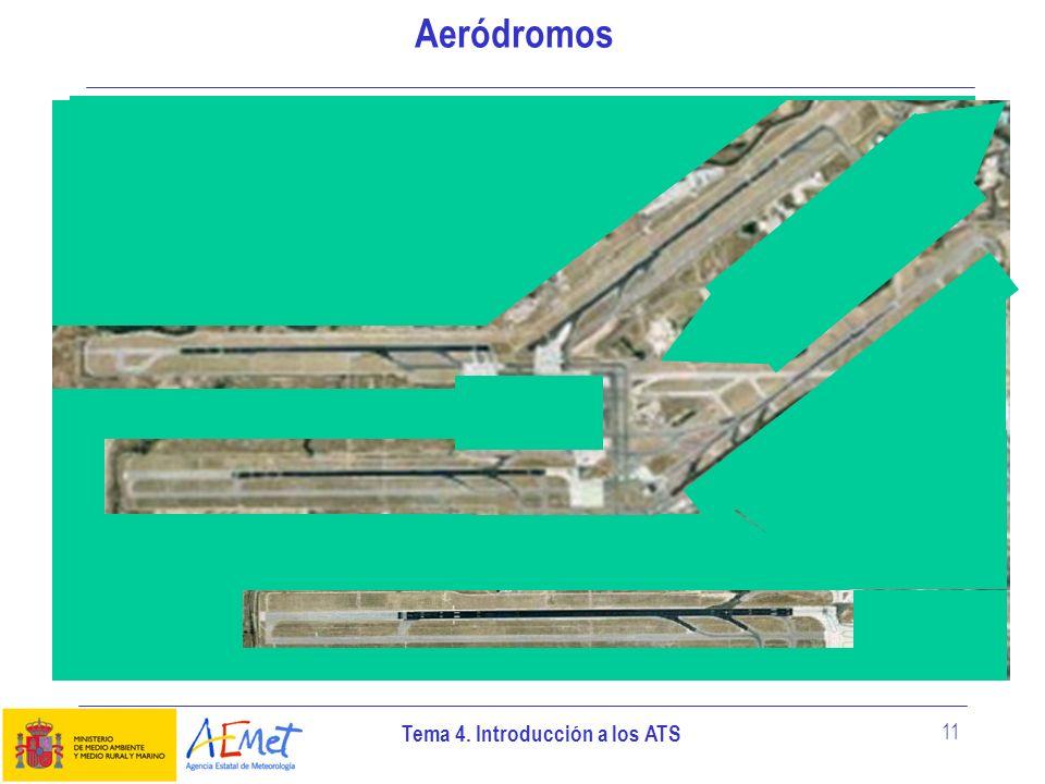 Tema 4. Introducción a los ATS 11 Aeródromos