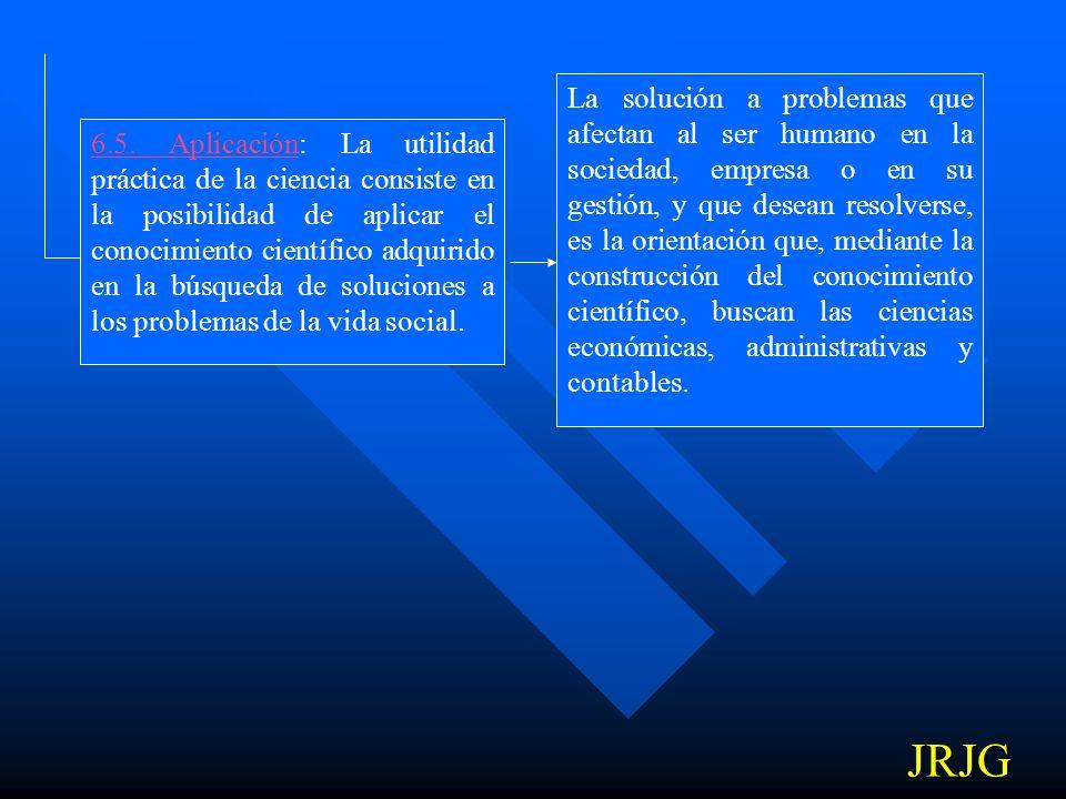 6.4. Explicación y Predicción: El conocimiento científico proporciona explicaciones a los hechos, fenómenos o realidades conocidos, lo que le permite