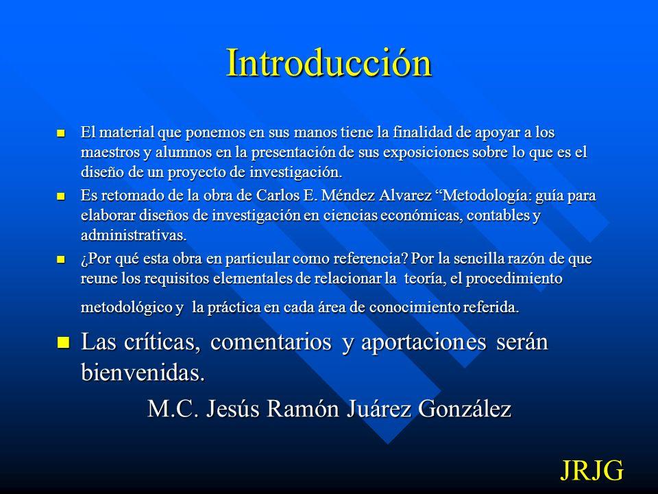 UNIVERSIDAD DE OCCIDENTE UNIDAD LOS MOCHIS MATERIAL DIDACTICO METODOLOGÍA DE LA INVESTIGACION M.C. JESUS RAMON JUAREZ GONZALEZ Los Mochis, Sinaloa, Di